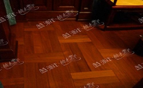 缅甸柚木地板